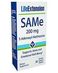 Life Extension SAMe 200 mg 30 enteric coated tabs