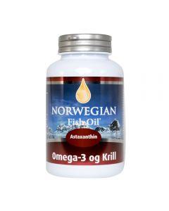 Norwegian Fish Oil Omega 3 Krill astaxanthin 120 softgels