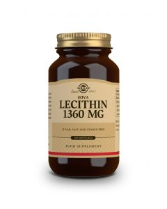 Solgar Soya Lecithin 1360 mg 250 softgels