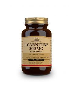 Solgar L-Carnitine 500 mg 30 tabs