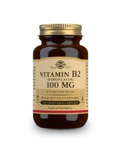 Solgar Vitamin B2  (Riboflavin) 100 mg 100 veg. caps