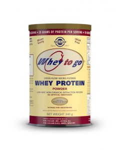 Solgar Whey To Go Protein vanilla powder 340 gr
