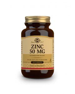Solgar Zinc Gluconate 50 mg 100 tabs