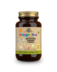 Solgar Kangavites Complete Multivitamin & Mineral Formula 60 chewable tabs tropical flavour