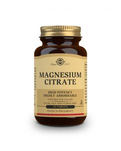 Solgar Magnesium Citrate 200 mg 120 tabs