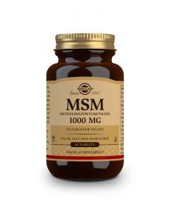 Solgar MSM 1000 mg 60 tabs