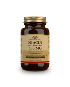 Solgar Niacin (B3) 500 mg 100 veg.caps