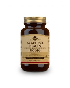 Solgar No-Flush Niacin (Β3) 500 mg Inositol Hexanicotinate 50 veg.caps