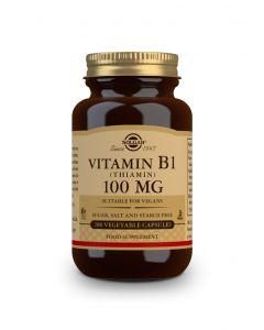 Solgar Vitamin B1 100 mg 100 veg. caps
