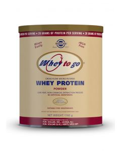 Solgar Whey To Go Protein chocolate powder 1162 gr
