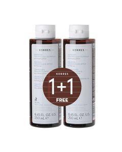 Korres Licorice & Urtica Shampoo oily hair 250 ml 1+1 Free
