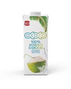 Ococo Βιολογικό νερό καρύδας 1 lt