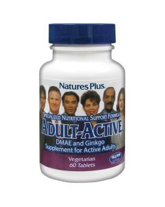 Nature's Plus Adult-Active DMAE/Gingko 60 tabs