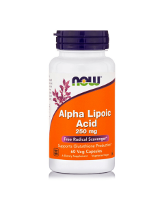 Now Alpha Lipoic Acid 250 mg veg 60 caps