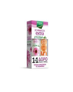 Power Health Echinacea Extra Stevia 24 eff tabs & Vitamin C 500 mg 20 eff tabs