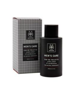 Apivita Men's Care Eau de Toilette cedar & cardamon 100 ml