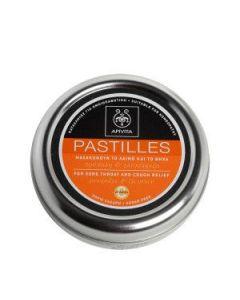 Apivita Pastilles Πρόπολη & γλυκύρριζα 45 gr