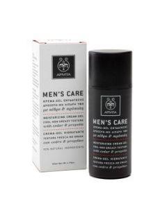 Apivita Men's Care Moisturizing cream-gel cedar & propolis 50 ml