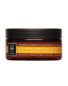 Apivita Hair Care Nourish & Repair Hair Mask olive & honey 200 ml