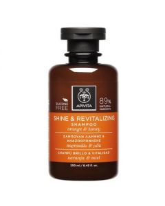 Apivita Hair Care Shampoo Shine & Revitalizing orange & honey 250 ml