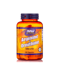 Now Sports L-Arginine / L-Ornithine 100 caps