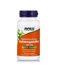 Now Ashwagandha Extract 450 mg 90 Vcaps