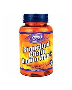 Now Sports Branched Chain Amino Acid (BCAA) 120 caps