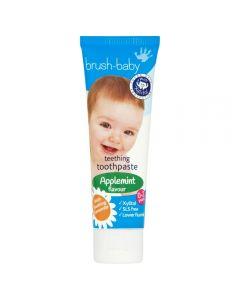 Brush-baby Teething toothpaste Applemint 0-2 years 50 ml