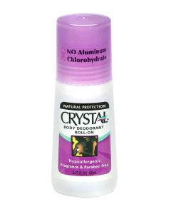 Crystal deodorant roll on 66 ml