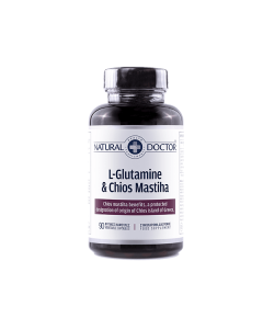 Natural Doctor L-Glutamine Chios Mastiha 90 v.caps