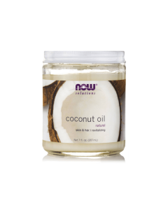 Now Solutions Coconut Oil for hair & skin 207 ml