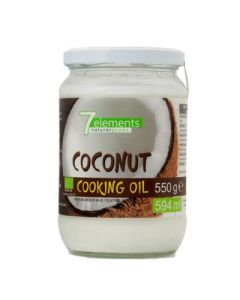 7elements Coconut Cooking Oil Organic 550 gr
