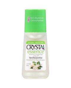 Crystal Essence Mineral Deodorant roll on Vanilla Jasmine 66 ml