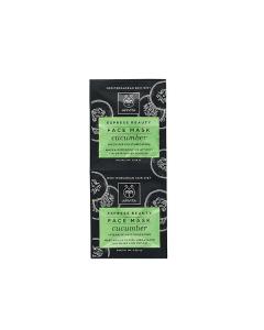 Apivita Express Beauty Face mask Cucumber 2 x 8 ml