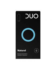 Duo Natural Condom - Normal 6pcs