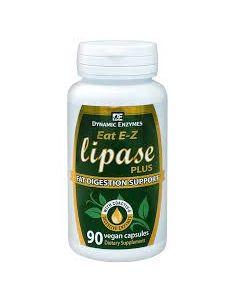 Dynamic Enzymes Lipase Plus 90 caps