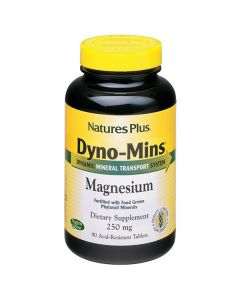 Nature's Plus Dyno-Mins Magnesium 250 mg acid resistant 90 tabs