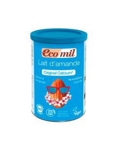 Ecomil Almond milk powder with calcium & agave 400 gr