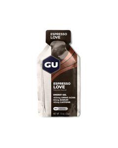 GU Energy Gel Espresso Love 40 mg caffeine 32 gr