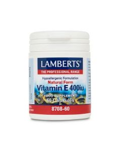 Lamberts Vitamin E Natural 400 IU 60 caps