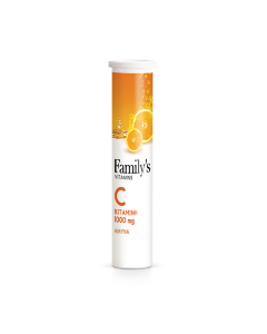 Family's Vitamins Vitamin C 1000 mg 20 eff tabs