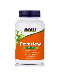Now Feverfew 400 mg (0.3% Parthenolide) 100 caps