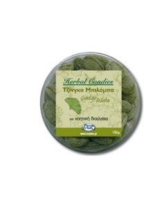 InoPlus Natural Herb Candies Ginkgo Biloba 70 gr