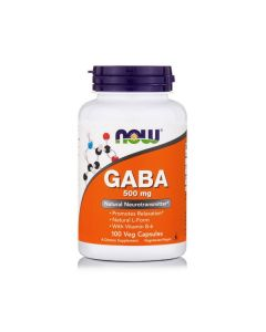 Now GABA 500 mg & B6 2 mg 100 vcaps