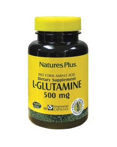 Nature's Plus L-Glutamine 500 mg 60 veg.caps