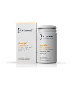 Nutramins Glucofix Normal Glucose Formula 60 caps