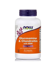 Now Glucosamine & Chondroitin 500 mg/400 mg with MSM 300 mg 90 caps