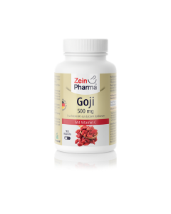 Zein Pharma Goji 500 mg with vitamin C 90 caps