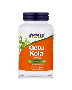 Now Gotu Kola 450 mg 100 caps