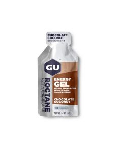 GU Roctane Energy Gel Chocolate Coconut 35 mg caffeine 32 gr